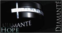 :Diamante: Hope - Mens Ring