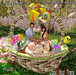"""""""Happy Easter"""" Easter Couple Pose"""