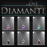 :Diamante: LOVE Necklace - HUD Version