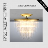 Tiered Chandelier - High Res