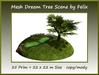 Mesh Dream Tree Scene 25 prim=22x22m Size copy/mody