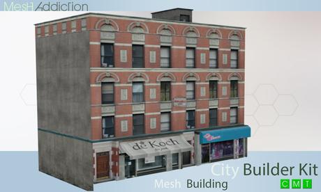 [MA] Builder Kit Mesh Building10 (boxed)