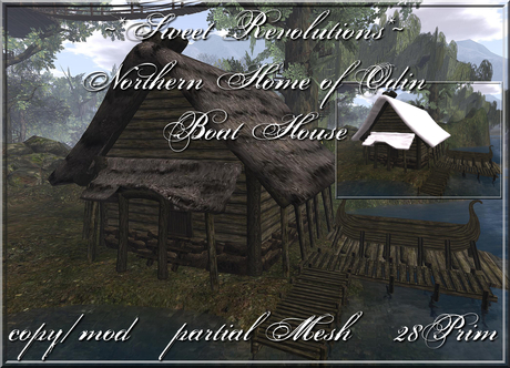 ~*SR*~ Northern Home of Odin - Boat House Box