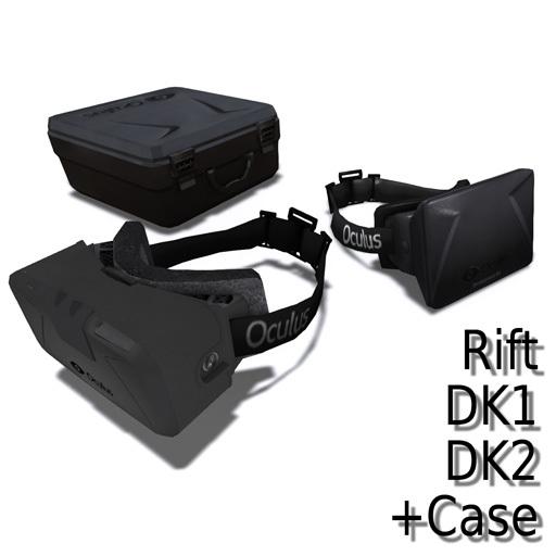 Free Oculus Rift DK1 & DK2 + Case