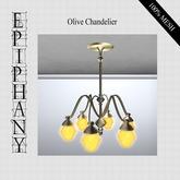 Store Gift  - Olive Chandelier (Mesh)