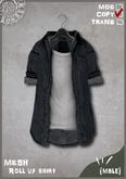 RONSEM* Roll up shirt / medium (male)
