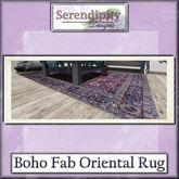 Serendpity Designs - Boho Fabulous Oriental Rug