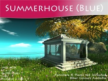 Moco Emporium ~ BLUE MESH Summerhouse Pack Copiable + lights v1