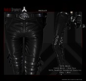 .:RD:. Dante Fitted Leather Pants Boxed