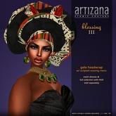:: ARTIZANA :: BLESSING III Gele Headwrap