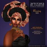 :: ARTIZANA :: BLESSING VII Gele Headwrap
