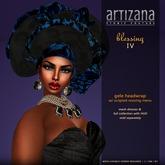 :: ARTIZANA :: BLESSING IV Gele Headwrap