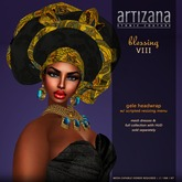 :: ARTIZANA :: BLESSING VIII Gele Headwrap