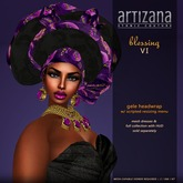 :: ARTIZANA :: BLESSING VI Gele Headwrap