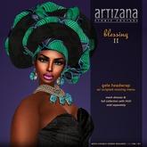 :: ARTIZANA :: BLESSING II Gele Headwrap