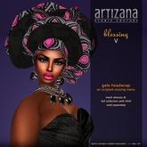 :: ARTIZANA :: BLESSING V Gele Headwrap