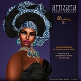 :: ARTIZANA :: BLESSING XI Gele Headwrap