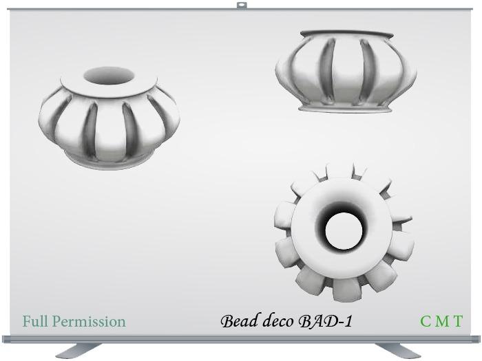 Bead deco BAD-1 Full Permission