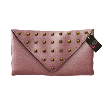 50L$ SALE! HYSTERICAL GLAM . NORMA CLUTCH [PINK]