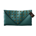 50L$ SALE! HYSTERICAL GLAM . NORMA CLUTCH [TEAL]