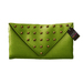50L$ SALE! HYSTERICAL GLAM . NORMA CLUTCH [LIME]