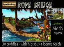 Cudde rope bridge -box