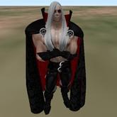 Capa Vampiro Maull's cloak