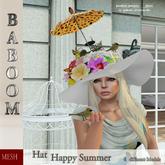 Baboom Hat- Happy Summer/4-model