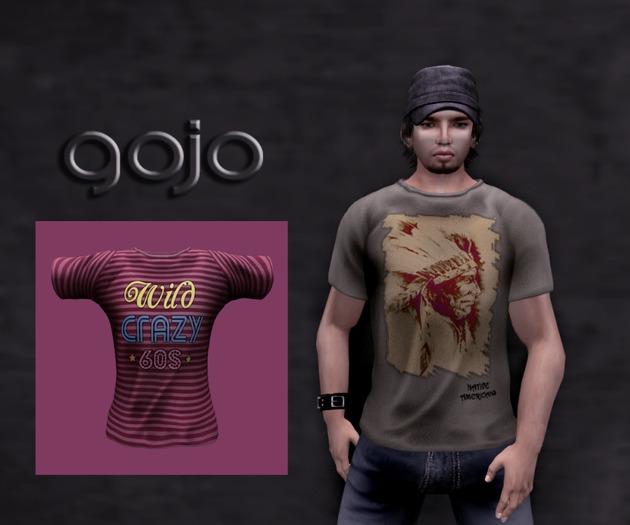 ::gojo:: Mens T-Shirts  60s