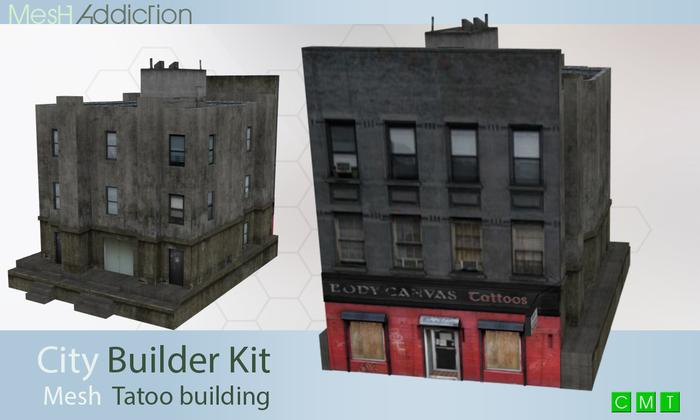 [MA] Builder Kit Mesh Building23 (boxed)