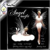 Angel outfit with floating cloud