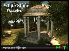White Stone Gazebo