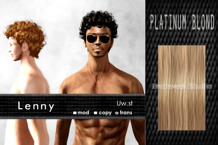 Uw.st   Lenny-Hair  Platinum blond