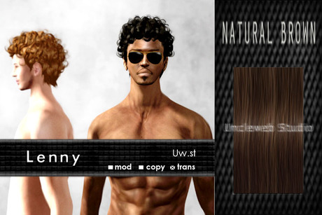 Uw.st   Lenny-Hair  Natural brown