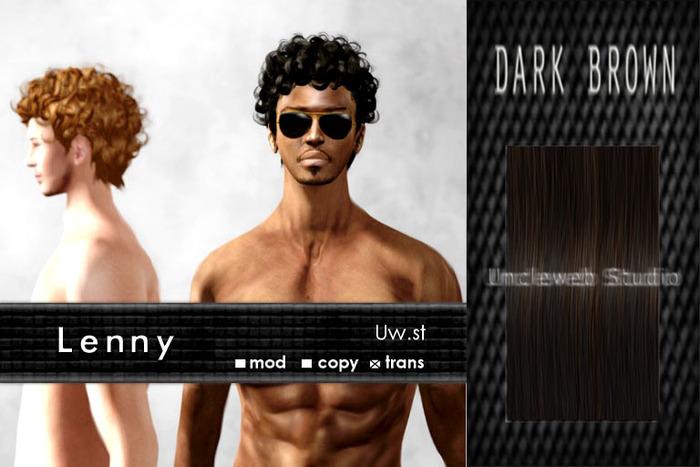 Uw.st   Lenny-Hair  Dark brown