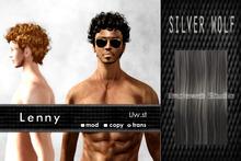 Uw.st   Lenny-Hair  Silver wolf