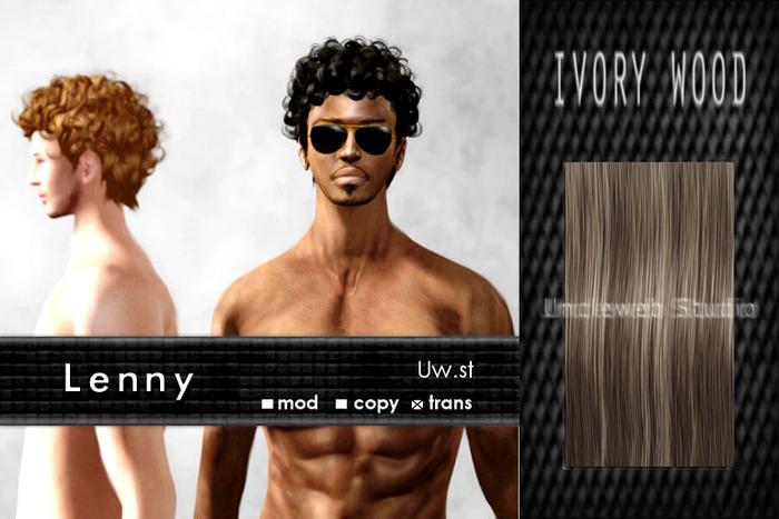 Uw.st   Lenny-Hair  Ivory wood