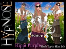 HYPNOSE - HIPPI DEMO MESH DRESS TOP&SKIRT