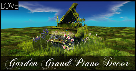 LOVE - GARDEN GRAND PIANO SPECIAL OFFER!!! LIMITED TIME