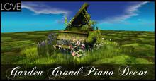 LOVE - GARDEN GRAND PIANO (BOXED)