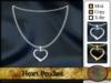 Heart Pendant (gold/silver)