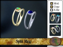 Split Ring (gold/silver)