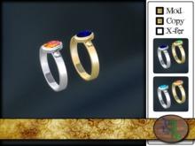 Vernal Ring (silver/gold)