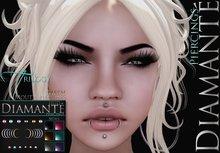:Diamante: Trilogy Mouth Piercing