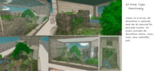 40 prim Tiger sanctuary rezzer (needs 24 x37 minimum space)