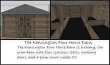 Kensignton Four Horse stable rezzer