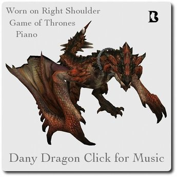 Dragon Click for Music GameofThrones