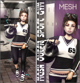 NS::  Mesh Outfit Sport GYM
