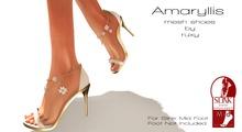 Ruxy-Amarillys Mesh Shoes white