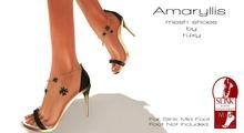 Ruxy-Amarillys Mesh Shoes black